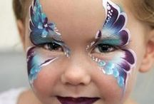 Schmink/Face painting / Must develop new skills now that I have kids who like face painting