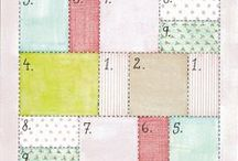 Quilting Patterns and calculations / layouts, designs and how to calculate amounts and sizes