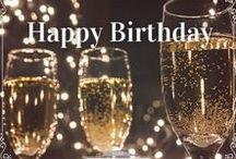 Vintage eCard Happy Birthday / Share HAPPY BIRTHDAY Vintage eCards - Featuring Flowers, Diamonds, Marilyn Mornoe, Vintage Cars, Typewriters, Roses, Champagne, Wine, Pink Tones - www.vintageecard.com