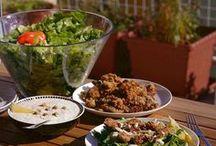 Saláty, zálivky
