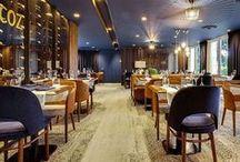 Décoration d'intérieur pour restaurant, bar ou accueil pour professionnels / Retrouvez toutes les créations Vauzelle dédiées à l'espace Restauration café et bar.