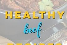 Healthy Beef Recipes with Mesa de Vida / Healthy and delicious beef recipes! Most are gluten free, Paleo and Whole30 friendly as well. 100% real food, chef-designed recipes that help you look like a healthy kitchen rock star and bring more life to your table!