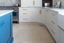 Kitchens / Kitchen flooring, Oak, Natural Stone and Porcelain!