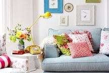 Koti - home / mummoilu, mummola, värikäs koti, koti, sisustus, värikäs sisustus, vintage koti, colorful home, grannystyle