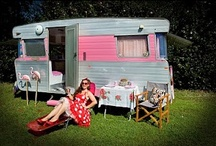 Vintage Travel Trailers / We love the old style travel trailers / by James Crane