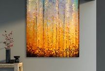Art Decoration Ideas / Interior decoration and design ideas and art inspiration / by Mark Lawrence Art