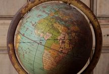"Globes / ""On this shrunken globe, men can no longer live as strangers."" ~Adlai E. Stevenson"