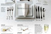 Table settings & Entertaining