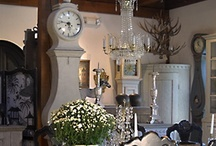 "Our Store / Edith Gilson opened Cupboards & Roses Swedish Antiques in 1989 in the heart of the Berkshire Mountains of western Massachusetts. About her shop, Edith says, ""I hope people who visit my shop feel welcome and surrounded by beautiful things."""