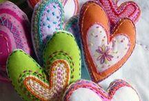 Valentine's day / Ystävänpäivä, rakkaus, onni, love, askartelu, Diy, crafts, paper crafts,