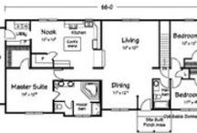 One-Floor / Ranch / Bungalow Plans