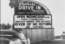 Drive in Theatres, Movie Houses and Old Memories / by James Crane