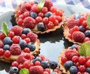 Fruits rouges / les fruits rouges on les aime en gâteau, en mousse, en salade... on ne s'en lasse jamais !