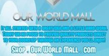 """Our World Mall / It all started with a great idea and a little hard work. Today we're proud to provide quality products direct to your doorstep through an experience you'll enjoy. And most of all, we hope you'll enjoy the products as much as we do. Spin To Win Shop.OurWorldMall.com Like on FB at FB.com/OurWorldMall Favorite on Etsy Etsy.com/shop/OurWorldMall """"Follow"""" on Twitter Twitter.com/OurWorldMall Follow on Instagram Instagram.com/OurWorldMall Follow on https://www.pinterest.com/ourworldent/our-world-mall"""