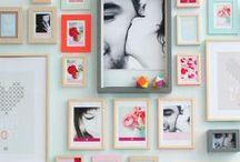 Photowall / sisustus, valokuvaseinä