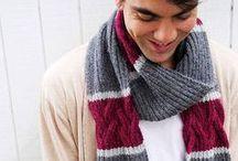 Knitting - MEN'S Scarves/Hats