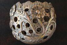 Metal Clay Tutorials - Tutoriales de Arcilla de Metal / by Alejandra Laorrabaquio Saad
