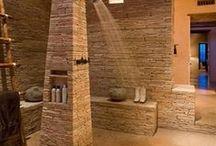 """Inspiring Bathroom Spaces / Home Bath designs that make us say """"Ahhhhh."""""""