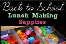 Back to School / Tips, tricks, ideas, recipes and more to get back into the swing of school!