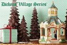 Department 56 - Heritage/Dickens' Village Collection / Open the door to Victorian England which at the time of Charles Dickens was the center of culture for the world and where many traditions we celebrate today took shape. The architecture, customs and history of Victorian England are inherent in the Dickens' Village Series®. These distinguished and quaint buildings and accessories are an inspiration to all who make them part of their holiday traditions.