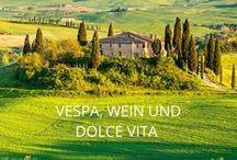 """Reisen // Italien / """"Bella Italia""""  - Italien wickelt jeden Urlauber mit seinem Charme um den Finger. Sonne, Meer, die sanften Hügel der Toskana und der unbeschwerte, mediterrane Lebensstil - davon können wir nicht genug bekommen. Urlaub * Reisen * Ferien * Abenteuer * Inspiration * Travel."""