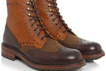 Leather shoes / #shoes #leatherboot #boots #menboots  #fashion