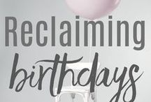 Reclaiming Birthdays (RITUALS + TRADITIONS) / Beyond cake and ice cream (though those are great too), we explore how to make birthday celebrations meaningful, fun, and special!  From a 13th birthday forest walk to 16 surprises for a 16th birthday, you will love our ideas!