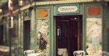 F R E N C H / I dream of the cafes in Paris.