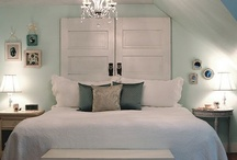 Home Decor: Bed Head... / Bed heads / headboards: upholstered, wooden, painted etc... / by Ants M