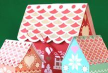 Merry & Bright - Christmas Crafts! / Fun and stylish Christmas crafts, Holiday decorations, winter wonderland printables and all the best Festive DIY ideas!