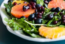 Salads / Salad Recipes, Interesting Salas Combos, Dressing Recipes + Ideas