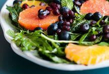 Salads / Salad Recipes, Interesting Salas Combos, Dressing Recipes + Ideas / by Becky Cortino l Impromptu Stir