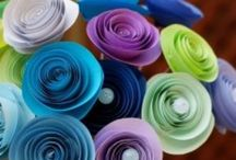 Paper Art / Reuse-Recycle-Recreate! Art created from paper -- various projects, uses... FUN + fascinating! Reimagined uses!