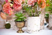 FLOWER ARRANGEMENTS / Gorgeous flower arranging ideas.