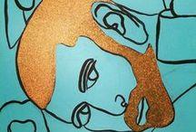 Art from Keli Anaya Studios / Painting, Sculpture, Conceptual Art, a little Street Art all from me, Keli Anaya.