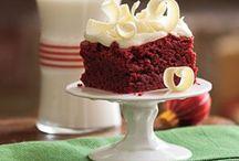 Red Velvet / Cake, Cookies, Cookie Bars...