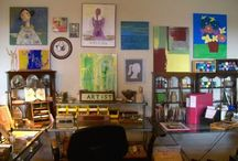 My Own Art Nook / My space for art projects