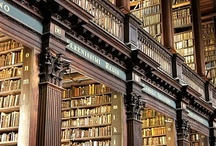 books, glorious, books. / by Sarah Bateman