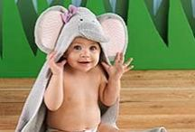 safari / Elephants, hippos and lions, oh my! Step into the wild side with cute safari themed baby gifts from Baby Aspen!