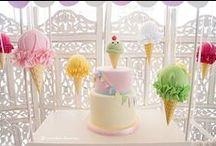 Ice Cream Themed Birthdays & Showers