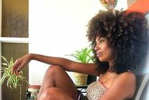 Natural Hair: Big hair don't care (pelos rizados) / Afro textured, kinky, curly, spiral, coily! 3b, 3c, 4a, 4b, 4c, locs, sister locs! NATURAL HAIR. Big Hair! Big hair don't care!  / by A Estrella