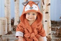 trend alert: foxes / What does the fox say?! From baby shower themes and gifts to nursery decor, foxes are popping up in everything for baby!