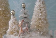 Love Bottle Brush Trees / I love making bottle brush trees!  I've learned from mistakes & now have it down pat.  If anyone has questions, e-mail me at baglady85@aol.com / by Barbara Guarnaccia