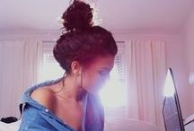 messy buns!! / by Kelsey Sharp