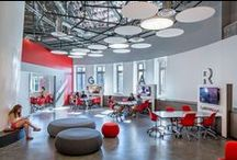poetics of learning spaces / Architecture & spaces associated with educational facilities & environments; including learning, socializing, dining etc.