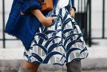 Estilo: Faldas (skirts) / Skirts! Pencil, Maxi, A-line, pleats!  / by A Estrella