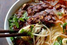 comida: pastas (pasta) / Noodles, pastas and dumplings. / by A Estrella