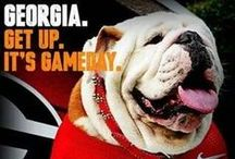 Georgia Girl / I was born in Athens,Georgia,so being a Bulldog is a birthright! Lol / by Cathe Richards