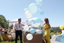 gender reveal party / Is it a he or a she? What will it be? We love these creative ideas for a gender reveal party!