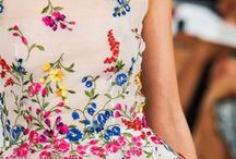 gowns: Oscar De la Renta / Oscar De la Renta gowns and couture